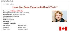 Victoria Stafford: Missing 8 Yr Old Girl