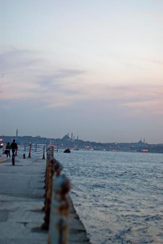Salacak shores of Bosphorus, Üsküdar, İstanbul, Pentax K10d