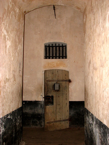 Solitary confinement cells in the Île Royale - CC Nicholas Laughlin