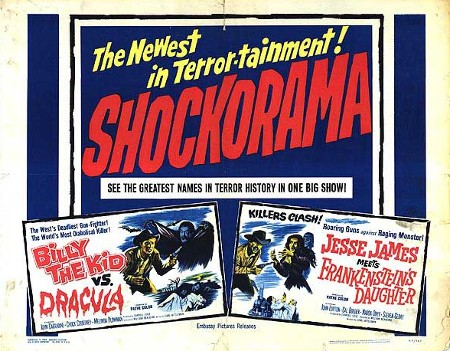 Billy the Kid vs Dracula double bill