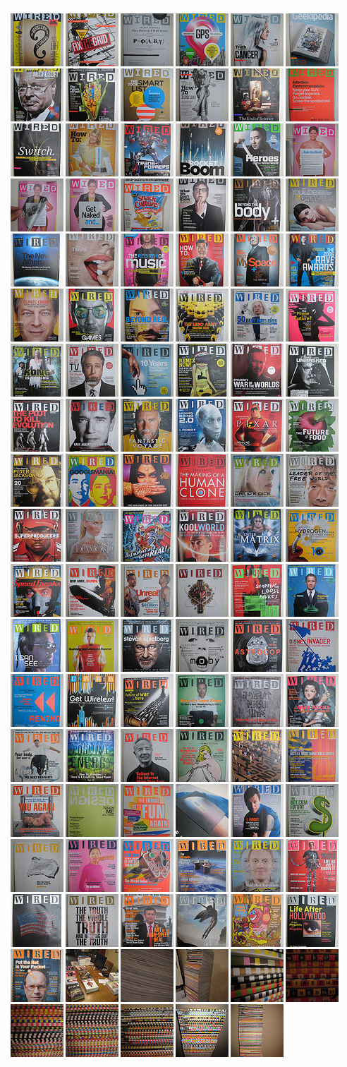 Wired Magazine collection for sale