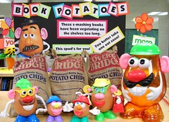 The Book Potato Display is Growing!