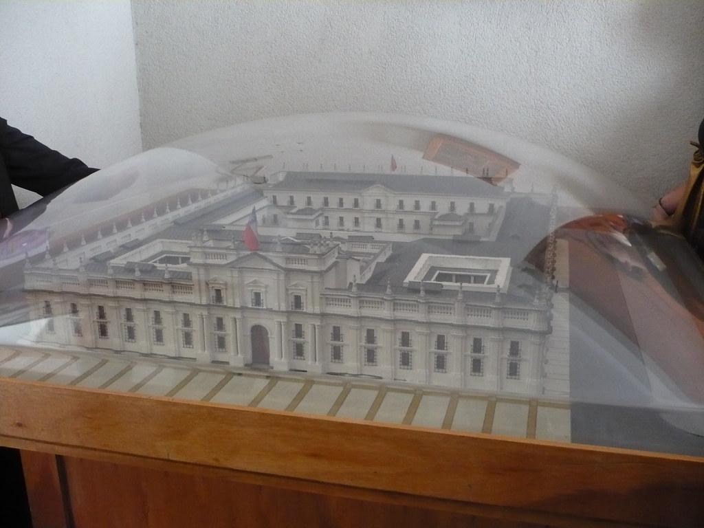 Maqeta La Moneda