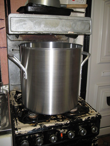 The Huge 38 Litre Aluminium Stock Pot