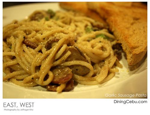 Garlic Sausage Pasta