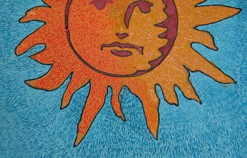 Blazing Sun Close Up