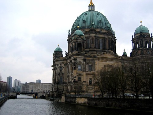 Berliner Dom on the Spree River.