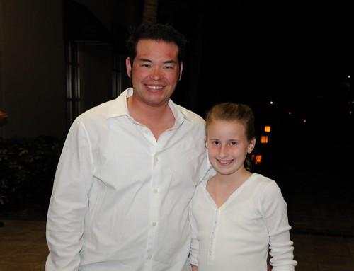 Jon Gosselin and my niece Abigail