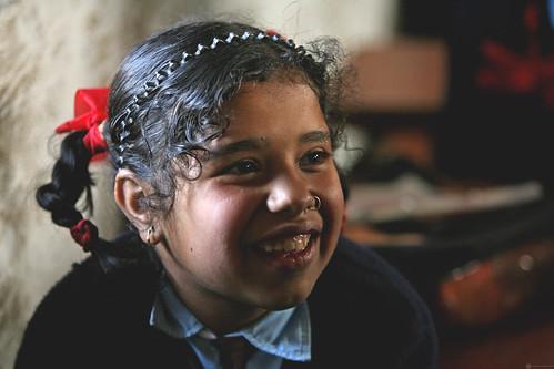 Student at Shreeshitalacom Lower Secondary School. Kaski, Nepal. Photo: © Simone D. McCourtie / World Bank