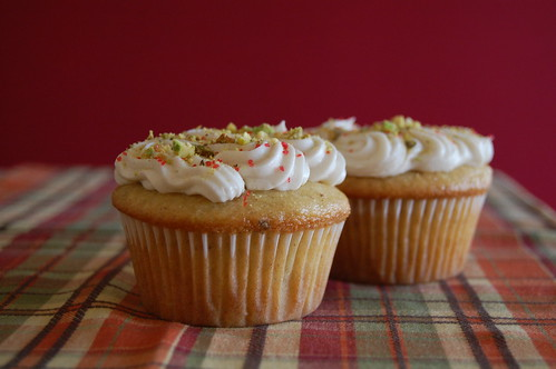 Pistchio Rosewater Cupcakes