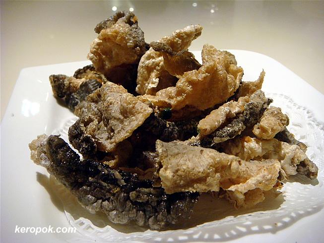 Fried Fish Skin