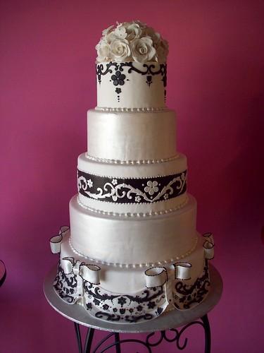 3648074938 6455b14e61 Baú de ideias: Decoração de casamento preto e branco
