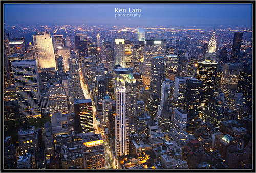 View from the Empire State Building - Ken Lam photography by you.