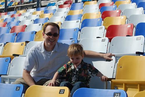 Daytona Intl Speedway Grandstands
