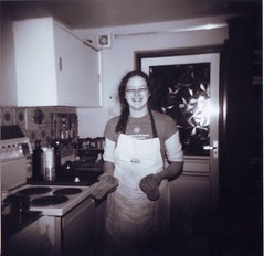 Diane in the Kitchen in 1970