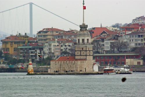 Maidens tower, Kız kulesi, Üsküdar, İstanbul, Pentax K10d