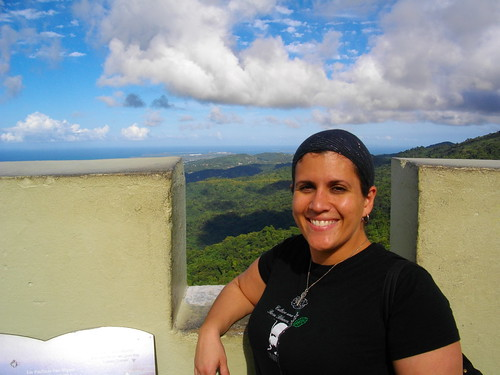 At El Yunque in PR in Feb.