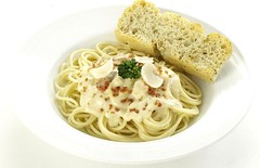 Red Ribbons Creamy Carbonara