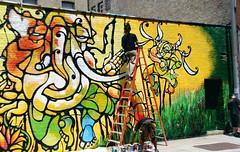 Dumbo Elephant Mural