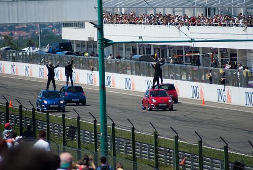 Renault Sport Show - oszloppal