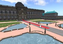 Dresden Gallery - courtyard