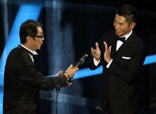 Masahiro Motoki at the Oscars
