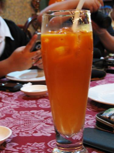 Thai Iced Tea at Krung Thai