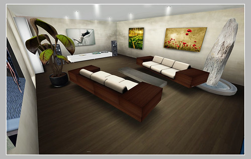 The Pad - Living Room