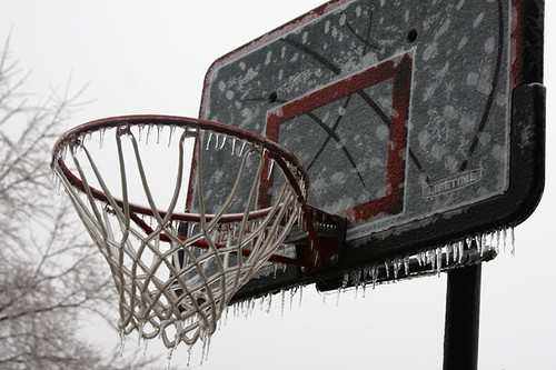 Ice Storm - Basketball Hoop