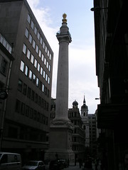 The Monument to the Great Fire of 1666, London