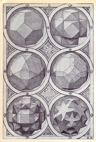 Aer (a) - Perspectiva Corporum Regularium -  Wenzel Jamnitzer 1568