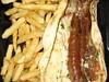 Astor Mediterrean - Lamb Gyro and Fries
