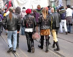 Milano: Manifestazione Centri Sociali