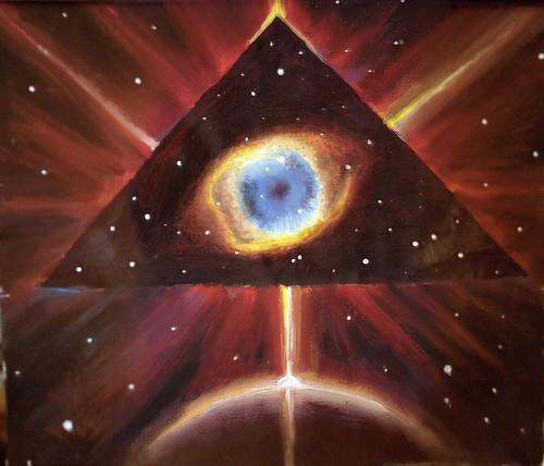 Gods eye nebula, the cosmic eye of God