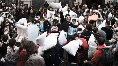 Roman Pillow Fight IV