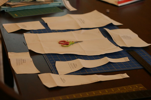 Step 1- Cut Out Pattern Pieces