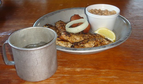Grilled Chicken Tenders & White Beans