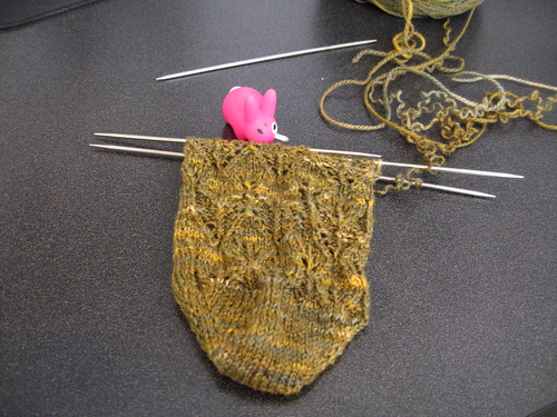 leaf sock, more progress by you.