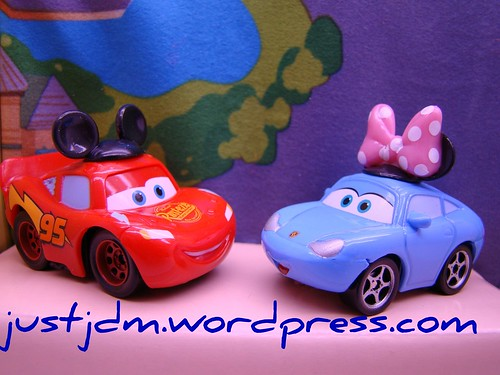 Disney World CARS mini's