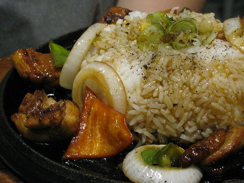 Chicken Pepper Rice at Sizzling Pepper Steak