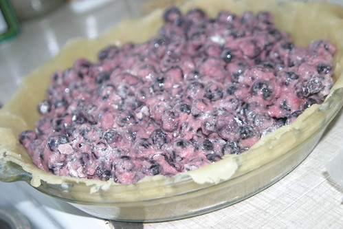 Sugar-free blueberry pie filling