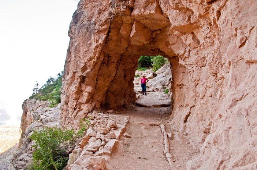 Tunnel on the Bright Angel Trail