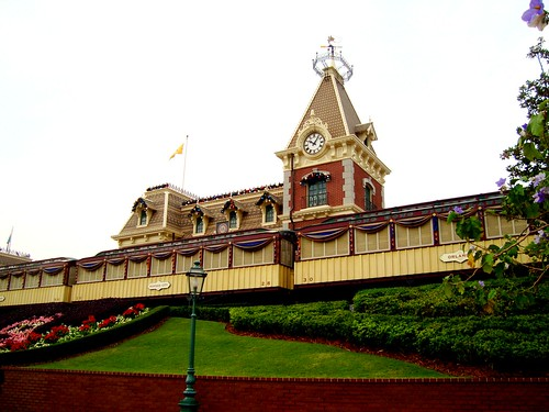 aka train station to main street