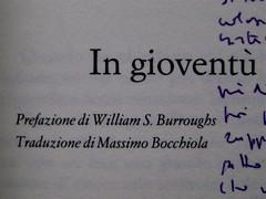 Denton Welch, In gioventù il piacere, Casagrande 2003, frontespizio (part.) 3