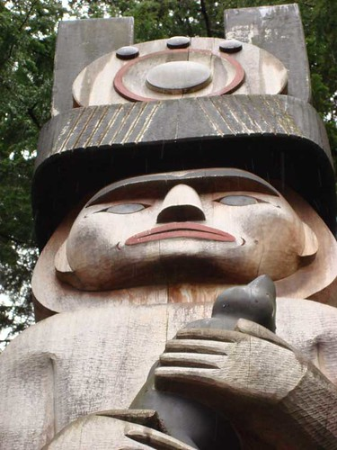 Totem at Museum of Anthropology at UBC