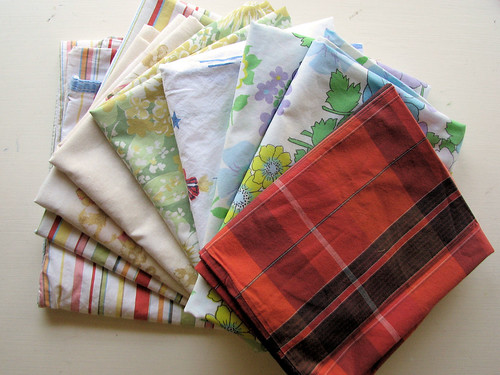 Nine remaining pillowcases out of 12