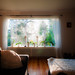 Morning light through window