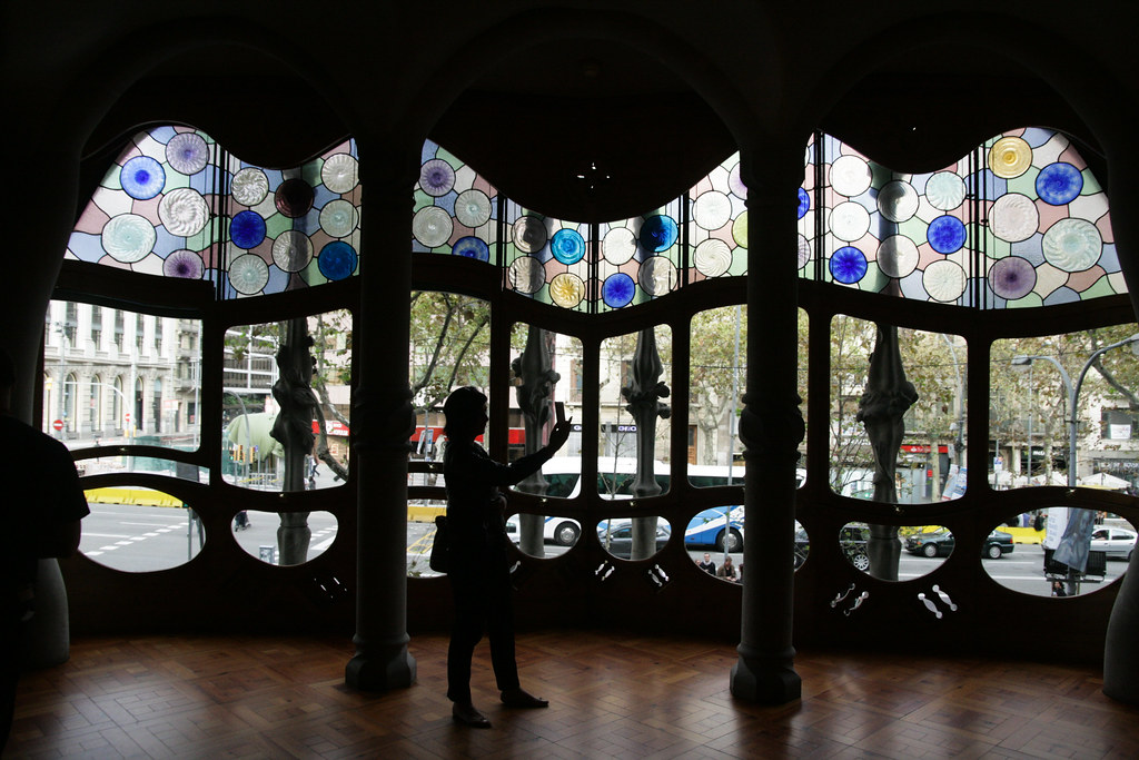 Intérieur de la casa Batllo (Gaudi)