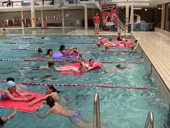 Schoolzwemkampioenschap Vlottenrace