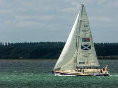 Fastnet Race yacht CV1 a Clipper 68